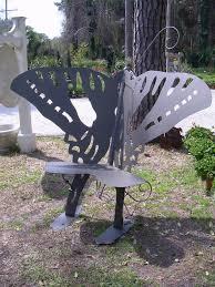 butterfluy garden bench