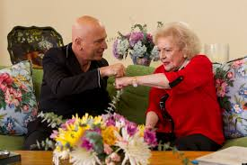 Howie At Home by Betty White Learns From Howie Mandel Fist Bump Lessons On U0027off