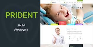 prident dental html template by shtheme themeforest