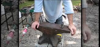 Backyard Blacksmithing How To Use An Anvil In Blacksmithing Metalworking Wonderhowto