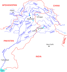 Map Of India And Pakistan by How India And Pakistan Are Competing Over The Mighty Indus River