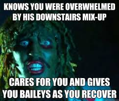 Overwhelmed Memes - knows you were overwhelmed by his downstairs mix up cares for you