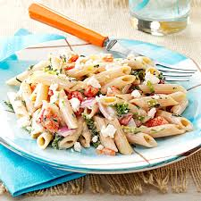 easy pasta recipes easy pasta salad for a crowd recipe taste of home
