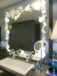 diy bathroom mirror lighting ideas interiordesignew com