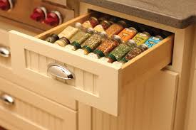 Contemporary Spice Racks Kitchen Drawer Organizer Transitional With Cubby Holes