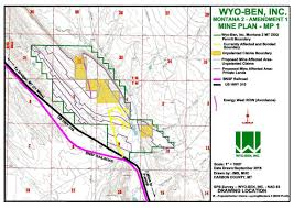 Montana County Map by Bentonite Mining Companies Propose Expansion On To Blm Lands In