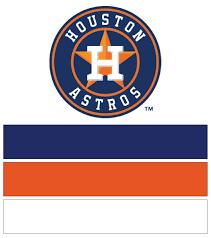 houston astros baseball nail art designs