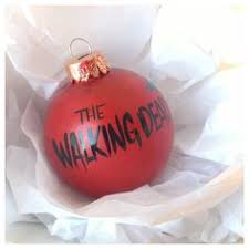 the walking dead ornament by fifilags on etsy