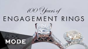 80s wedding band 100 years of engagement rings glam
