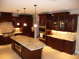 Cherry Kitchen Cabinets Kitchens With Dark Cherry Cabinets Dark Cherry Cabinets Dark