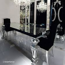 Best  Black Dining Tables Ideas On Pinterest Black Dining - White and black dining table