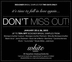 designer sale toronto designer bridal sle sale toronto image consulting