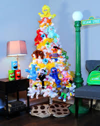sesame stree theme tree pop culture trees