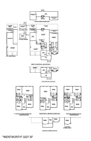 lenox terrace floor plans crescent homes master plans wentworth