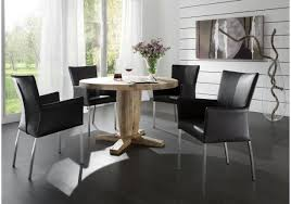 Esszimmertisch Design Esstisch Rund 160 Cm Balkeneiche Massiv Geölt Woody 11 00340