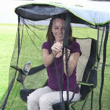 kelsyus canopy chair with removable mosquito bug net the green