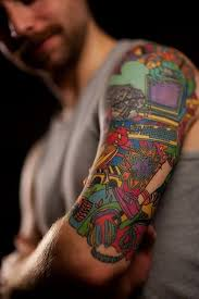 40 cool sleeve tattoos for men
