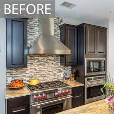 painting kitchen cabinets espresso before and after kitchen painting projects before and after paper moon painting