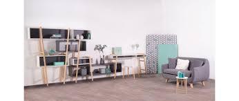 bureau gris blanc bureau design gris et blanc wood tang compo 8 miliboo meubles