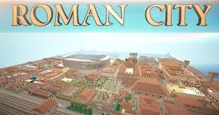 City Maps For Minecraft Pe Roman City Download Minecraft Project