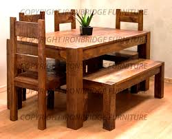 furniture amazing rustic dining room sets furniture table modern
