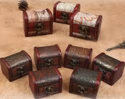 Treasure Chest Favors by Mini Treasure Box Etsy