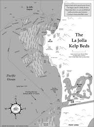 la jolla map la jolla kelp beds fishing map