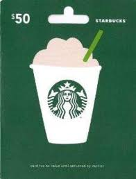 starbuck gift cards starbucks giveaways ltsstarbucks