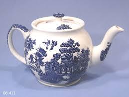 willow pattern jam pot sadler willow pattern tea pot collectable china