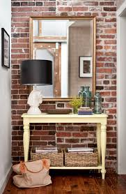 Cool Entryways 100 Home Pinterest Bricks Entry Tables And Exposed