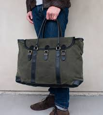 joshua tree canvas weekender bag features wanderlust leather