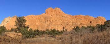 Garden Of The Gods Rock Formations Garden Of The Gods