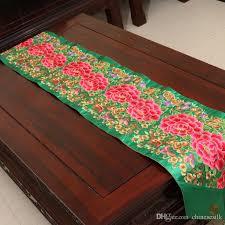 luxury damask table runner latest design luxury fine embroidered patchwork wedding reception