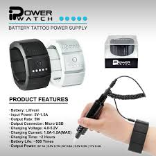 imported portable ipower watch tattoo power supply buy tattoo
