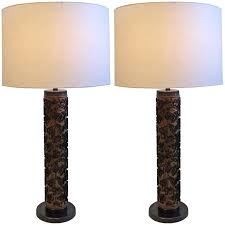 Unique Table Lamps Unique Table Lamps Made From Dahls Tapetkunst Wallpaper Rollers