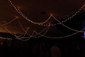 flowy night sky church stage design ideas