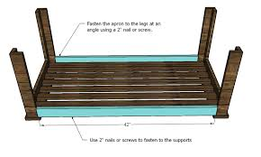 Woodworking Plans For A Coffee Table by Ana White Build An Outdoor Coffee Table Hamptons Outdoor Table
