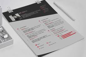 Free Template Resume Download Cv Free Resume Template On Behance