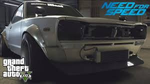 nissan 2000 gtx gta 5 next gen custom car build need for speed nissan 2000 gt