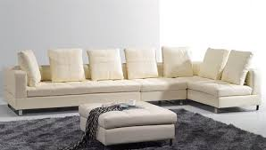 Sectional Sofa Pillows Cream Soft Leather Sectional Sofa With Throw Pillows Kentucky