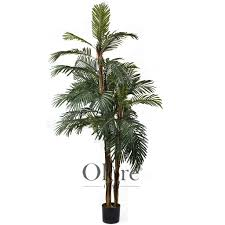 indoor palm artificial kenya palm tree 6ft indoor artificial tree by olore