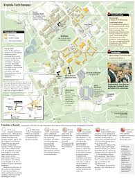 Virginia Tech Parking Map by Staff Of The Washington Post The Pulitzer Prizes