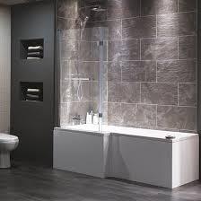 Bathroom With Shower And Bath Cambridge Shower Bath From Plumb Bathroom Fittings