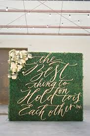 wedding backdrop greenery the prettiest ceremony backdrops made entirely of greenery