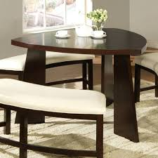 dining room settee dining room using solid smallkitchen leather architectural
