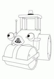 bob builder color cartoon characters coloring pages