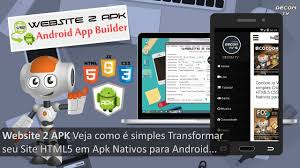apk site website 2 apk veja como é simples transformar seu html5 em apk