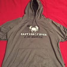 east coast dyes brand new ecd sweatshirt lacrosse apparel