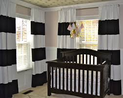 Striped Curtain Panels Horizontal Homey Idea Black And White Striped Curtain Panels Innovative