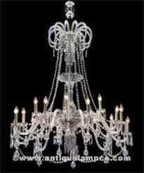 Lead Crystal Chandelier Prisms Crystals And Baubles At The Antique Lamp Co